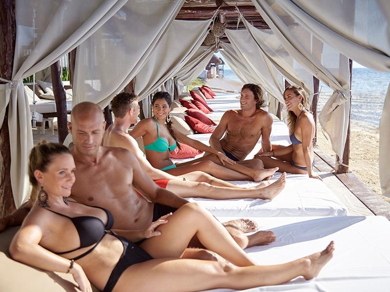 Riviera maya nude beach