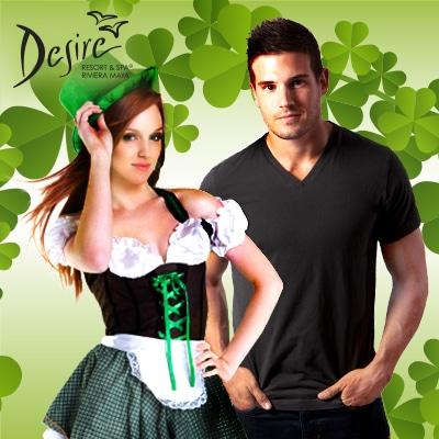 Desire Resorts | Desire Experience Sensual St. Patrick's Day