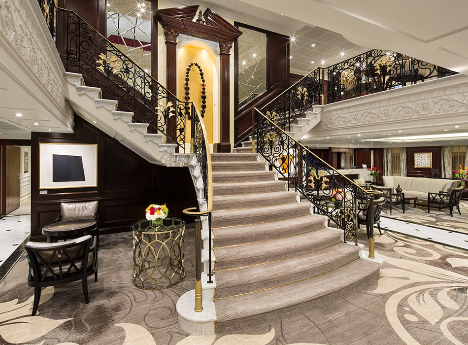 Desire Cruises | Stairwell Deck