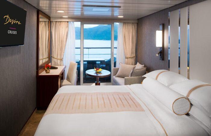 Desire Venice Cruise | Club Veranda Stateroom