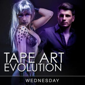 Desire Riviera Maya Pearl Resort Tape Art Evolution