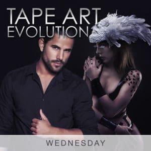 Desire Riviera Maya Resort Tape Art Evolution