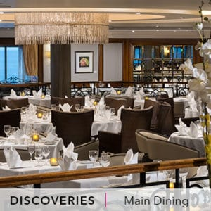 Desire Barcelona - Rome Cruise | Discoveries Restaurant Main Dining