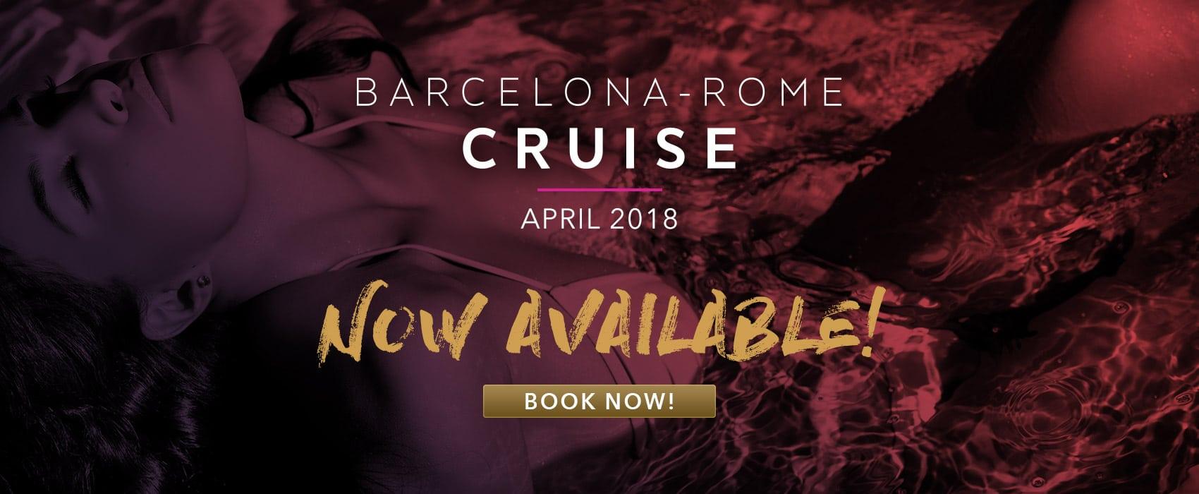 Desire Barcerlona - Rome Cruise, April 2018