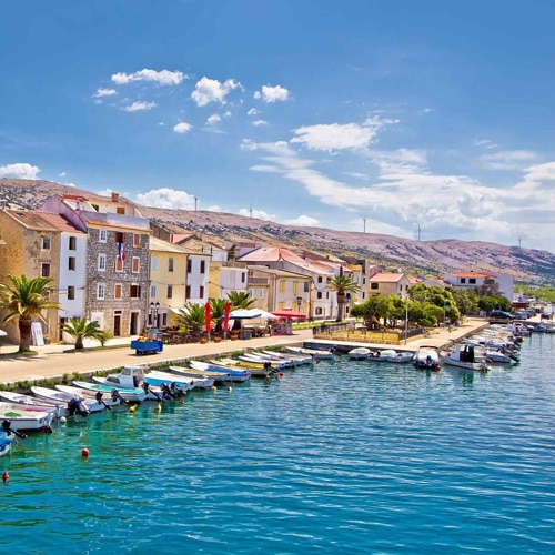 Desire Venice Cruise | Ancient Town of Pag & Cheese Tasting Shore Excursion