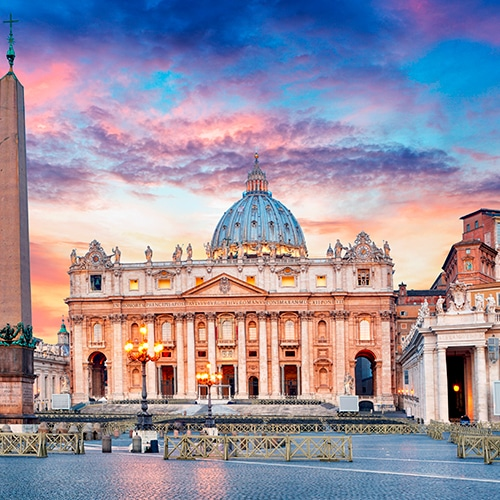 Desire Barcelona-Rome Cruise | St. Peter's Basilica, Colosseum with FCO Airport Transfer