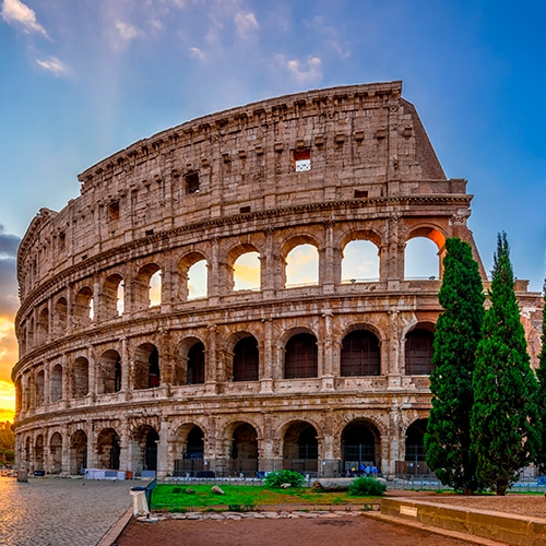 Desire Barcelona-Rome Cruise | St. Peter's Basilica, Colosseum with City Center Transfer