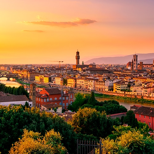Desire Barcelona-Rome Cruise | Panoramic Florence