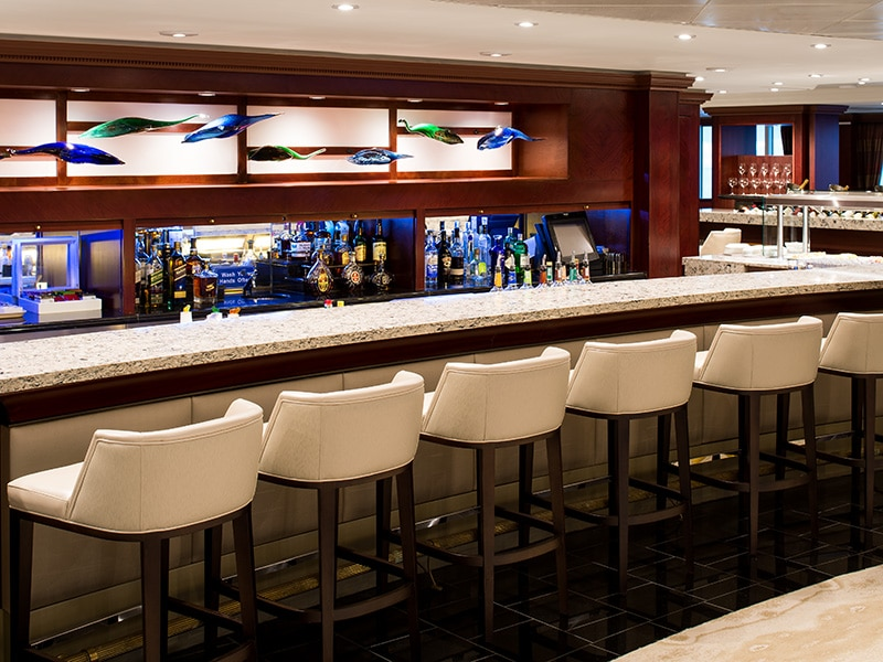 desire cruises | azamara living room bar