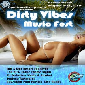 Dirty Vibes Music fest at Desire Riviera Maya Pearl Resort