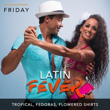 Desire Riviera Maya Resort | Latin Fever Theme Night