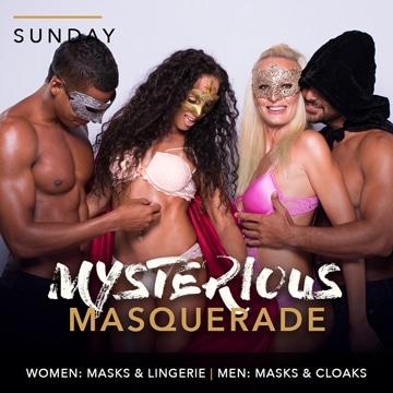 Desire Riviera Maya Resort | Mysterious Masquerade Theme Night