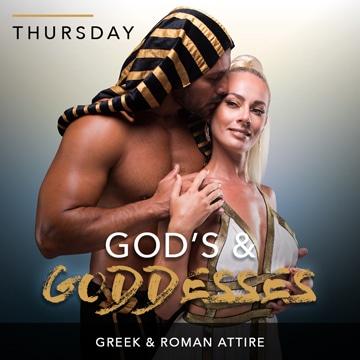 Desire Riviera Maya Resort | Gods & Goddesses Theme Night