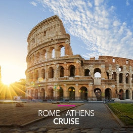 Desire Rome-Athens Cruise | October, 2021