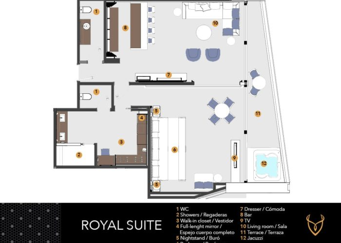 Royal Suite | Desire Mansion