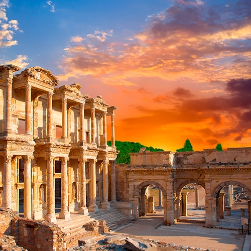 Ephesus | Desire Greek Islands cruise 2022